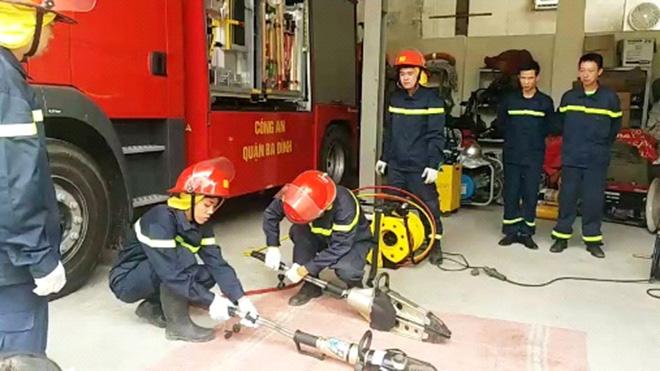 Một ngày với những người làm công tác cứu hỏa