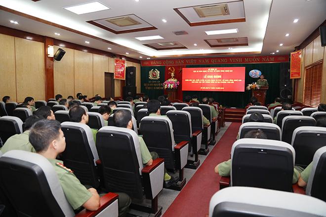 Khai giảng khóa đào tạo về an ninh mạng cho lãnh đạo cấp Phòng, Công an địa phương các tỉnh phía Bắc - Ảnh minh hoạ 3