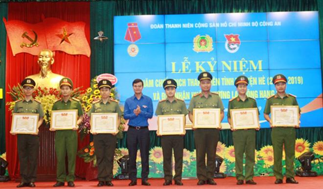 Đoàn Thanh niên Bộ Công an đón nhận Huân chương Lao động hạng Ba - Ảnh minh hoạ 5