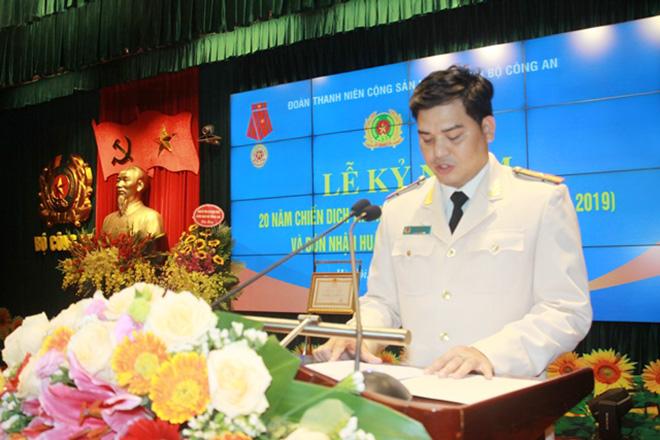 Đoàn Thanh niên Bộ Công an đón nhận Huân chương Lao động hạng Ba - Ảnh minh hoạ 7