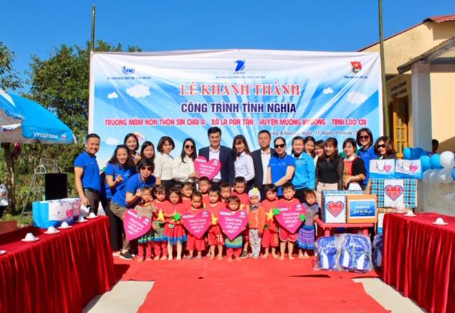 VNPT VinaPhone khánh thành công trình trường mầm non thôn Sín Chải A - Ảnh minh hoạ 2