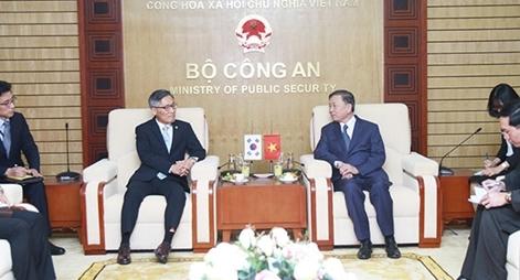 Nâng tầm quan hệ hợp tác giữa Bộ Công an Việt Nam và NIS