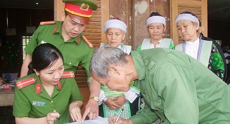 Công an Thái Nguyên đẩy mạnh cải cách hành chính, tăng cường về cơ sở