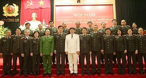 Thứ trưởng Lương Tam Quang dự Hội nghị triển khai công tác năm 2020 Văn phòng Bộ Công an