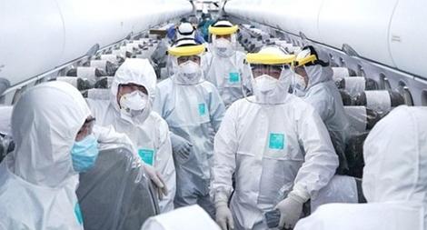 Tổ bay thực hiện chuyến bay đến Vũ Hán âm tính với virus COVID-19
