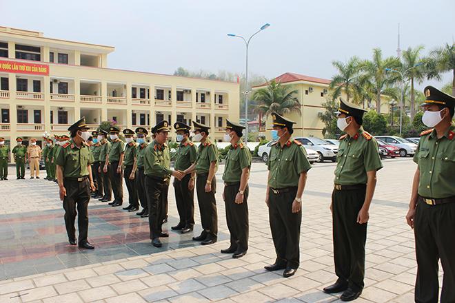 Đoàn công tác Bộ Công an làm việc với Công an tỉnh Điện Biên - Ảnh minh hoạ 2