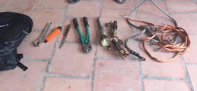 Hà Nội: Bắt đối tượng gây ra nhiều vụ trộm cắp dây cáp điện tại huyện Gia Lâm - 1