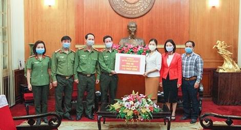 Học viện An ninh nhân dân ủng hộ công tác phòng, chống dịch COVID-19