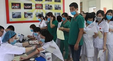 Gần 150 cán bộ, y bác sĩ BV Y học cổ truyền Bộ Công an hiến máu tình nguyện