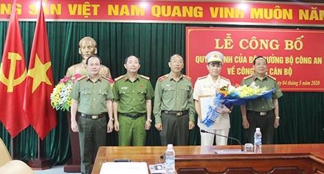 Công an tỉnh Điện Biên có tân Phó Giám đốc
