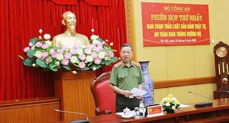 Ban soạn thảo Luật đảm bảo TTATGT đường bộ họp phiên thứ nhất
