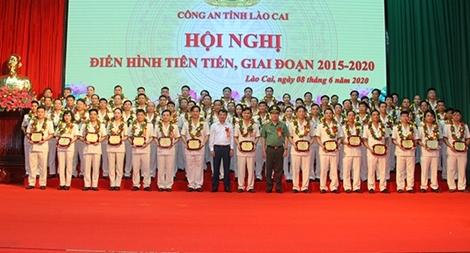 Công an tỉnh Lào Cai biểu dương điển hình tiên tiến