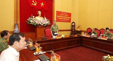 Bộ Công an gặp mặt đại biểu Quốc hội trong CAND