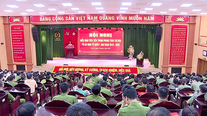 Công an tỉnh Sơn La tổ chức Hội nghị điển hình tiên tiến