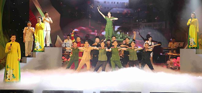 Khai mạc Hội diễn Nghệ thuật quần chúng CAND năm 2020 khu vực I - Ảnh minh hoạ 5