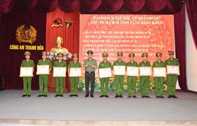 Công an Thanh Hóa tổ chức Hội nghị sơ kết công tác 6 tháng đầu năm 2020