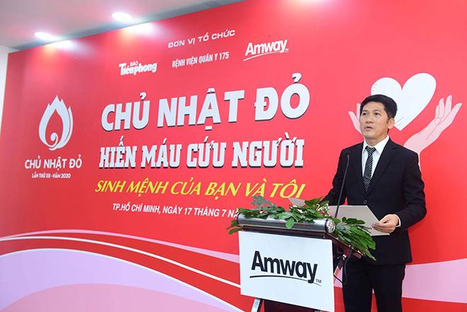 Amway Việt Nam lần đầu tiên tham gia ngày hội Hiến máu Chủ nhật Đỏ - Ảnh minh hoạ 2