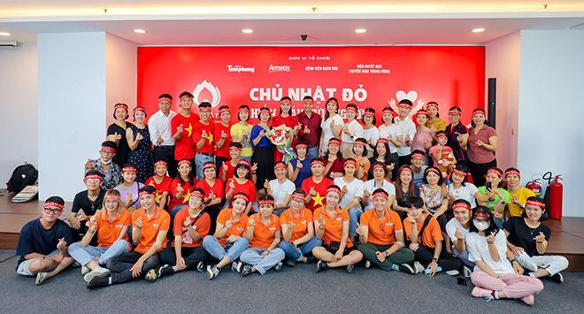 Amway Việt Nam lần đầu tiên tham gia ngày hội Hiến máu Chủ nhật Đỏ - Ảnh minh hoạ 3
