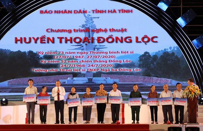 """Bộ trưởng Tô Lâm dự chương trình nghệ thuật """"Huyền thoại Đồng Lộc"""" - Ảnh minh hoạ 2"""
