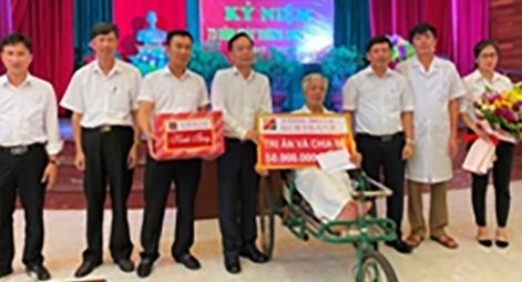 Công đoàn Agribank đẩy mạnh hoạt động đền ơn đáp nghĩa nhân Ngày thương binh liệt sỹ