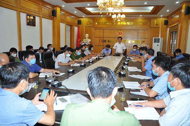 Công an tỉnh Hải Dương khẩn trương triển khai các biện pháp phòng dịch COVID 19