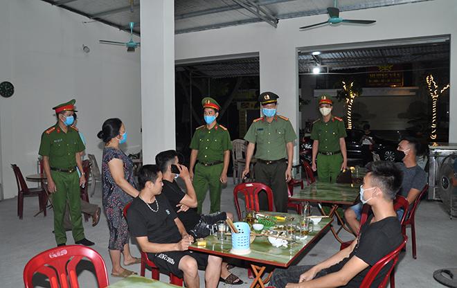 Công an tỉnh Hải Dương khẩn trương triển khai các biện pháp phòng dịch COVID 19 - Ảnh minh hoạ 4