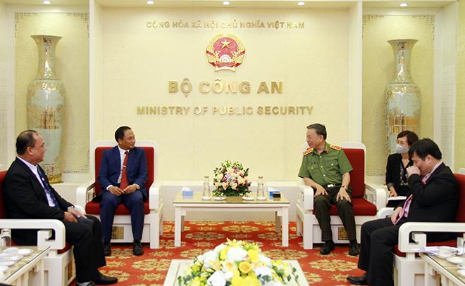 Lực lượng Công an Việt Nam – Lào tăng cường hợp tác chặt chẽ, toàn diện hơn nữa