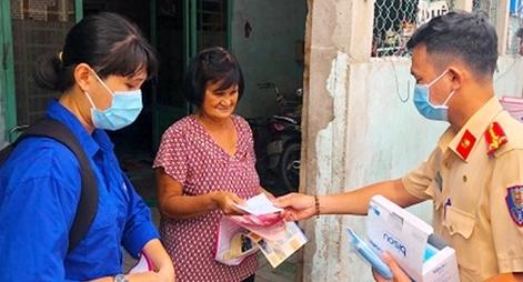 Công an TP Hồ Chí Minh giữ vững an ninh, nâng cao hiệu quả chống dịch