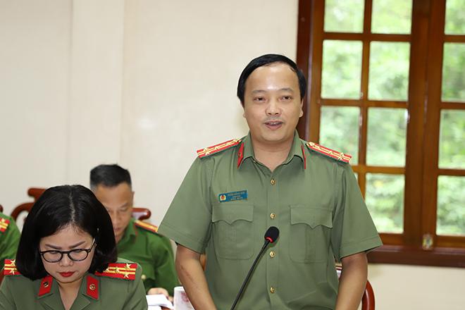 Thứ trưởng Lê Tấn Tới làm việc tại Công an tỉnh Yên Bái - Ảnh minh hoạ 4