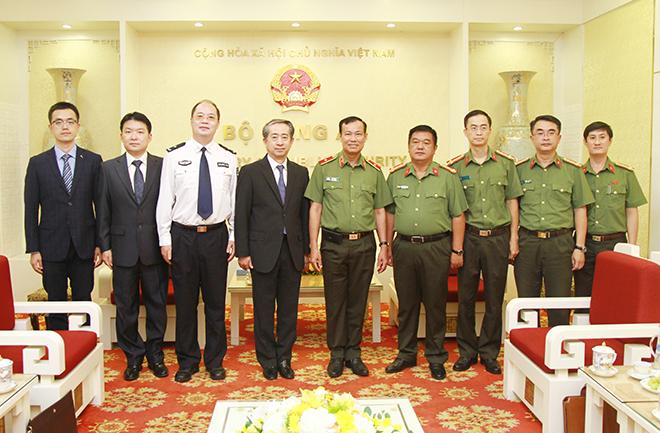 Tăng cường phối hợp phòng, chống tội phạm giữa Việt Nam và Trung Quốc