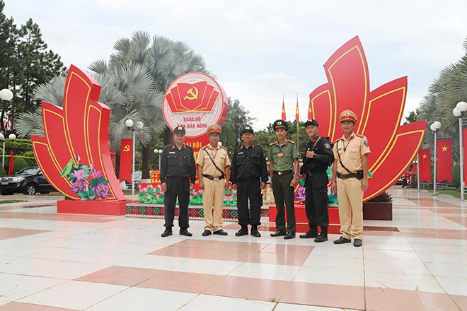 Công an Đắk Nông nỗ lực bảo đảm tuyệt đối an toàn Đại hội đại biểu Đảng bộ tỉnh lần thứ XII - Ảnh minh hoạ 3