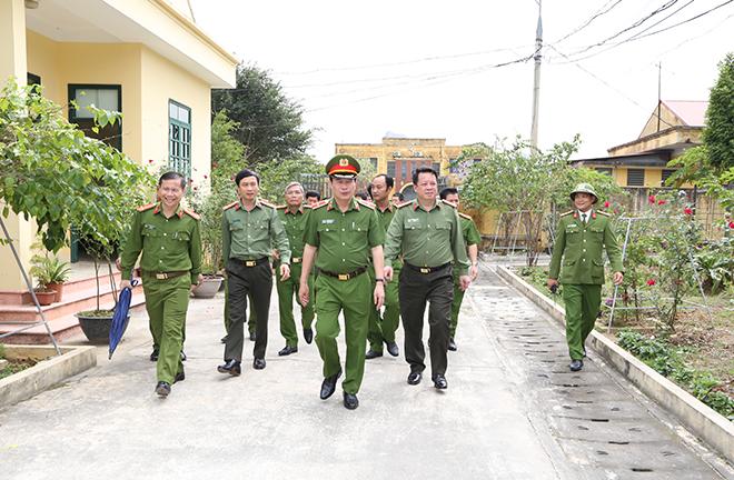 Thứ trưởng Lê Quốc Hùng làm việc với Công an tỉnh Hà Nam - Ảnh minh hoạ 3