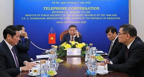 Thúc đẩy quan hệ hợp tác giữa Bộ Công an Việt Nam và các cơ quan thực thi pháp luật Singapore