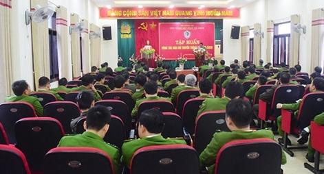 Tập huấn công tác truyền thông phòng cháy chữa cháy