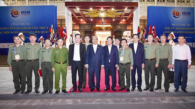 Lực lượng Công an hoàn thành xuất sắc nhiệm vụ bảo đảm tuyệt đối an ninh, an toàn các hoạt động của Năm Chủ tịch ASEAN 2020