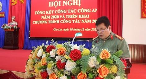 Công an tỉnh Gia Lai triển khai nhiệm vụ công tác năm 2021