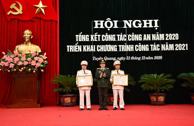 Công an tỉnh Tuyên Quang triển khai công tác năm 2021