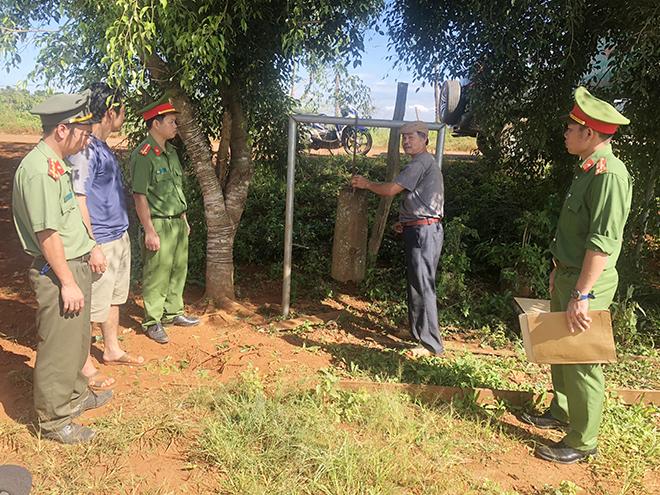 Công an xã góp phần vào sự yên bình vùng biên Đắk Song