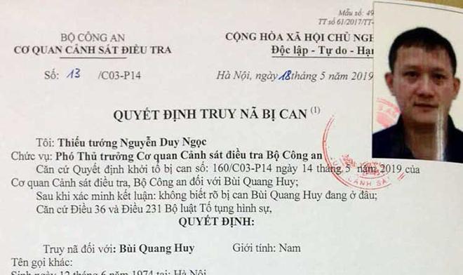 Bùi Quang Huy và đồng phạm thu lợi bất chính hơn 200 tỷ đồng