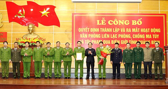 Thành lập Văn phòng liên lạc phòng, chống ma túy qua biên giới Quảng Bình