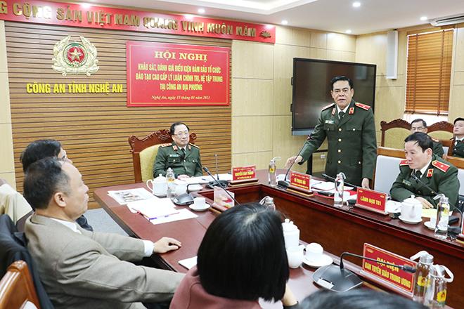 Sẽ đào tạo cao cấp lý luận chính trị tại Công an địa phương - Ảnh minh hoạ 2