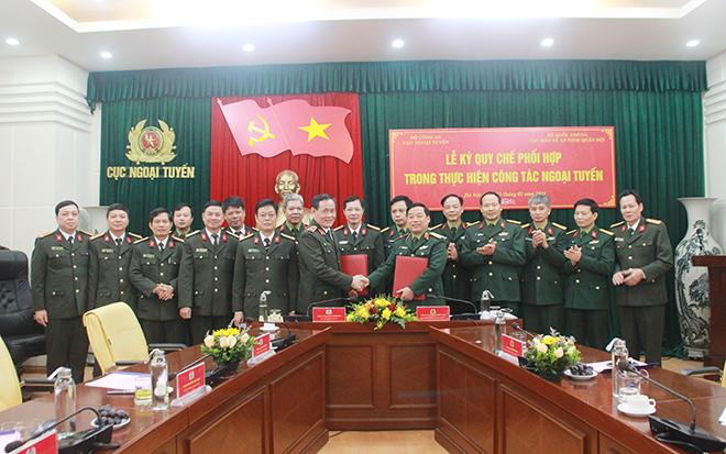 Cục Ngoại tuyến và Cục Bảo vệ an ninh Quân đội ký quy chế phối hợp - Ảnh minh hoạ 3