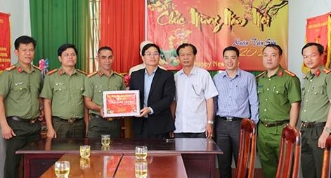 Chủ tịch UBND tỉnh Đắk Nông kiểm tra công tác bảo đảm ANTT  của CBCS Công an tỉnh
