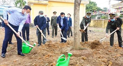 """Công an Hà Nội phát động """"Tết trồng cây đời đời nhớ ơn Bác Hồ"""""""