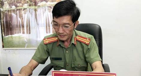 Trung tá Công an đam mê sáng tác nhạc