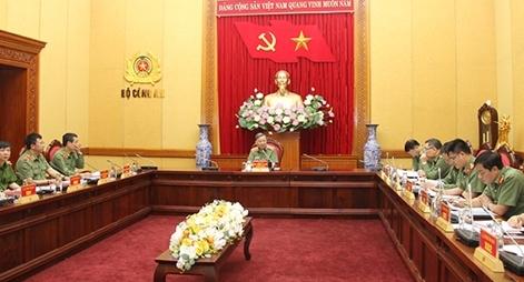 Bộ trưởng Tô Lâm làm việc về đầu tư phát triển thể dục, thể thao trong CAND