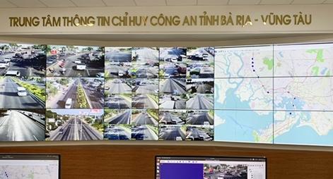 Công an tỉnh Bà Rịa - Vũng Tàu khai trương hệ thống giám sát tự động bằng camera