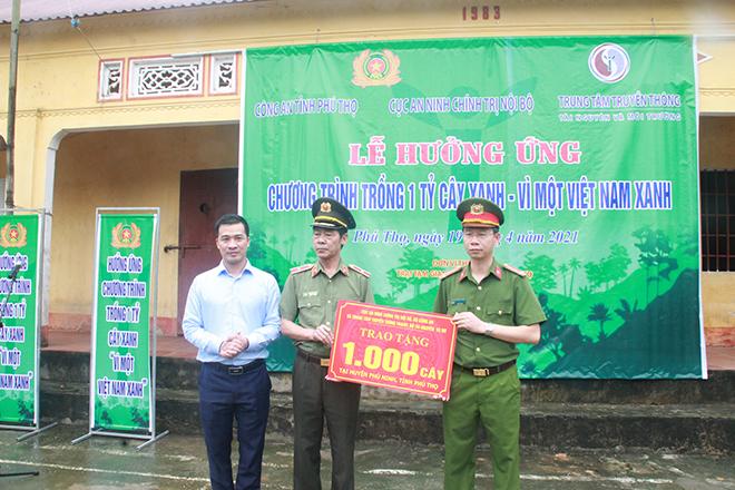 Cục An ninh Chính trị Nội bộ trồng 1000 cây sao đen tại Phú Thọ - Ảnh minh hoạ 2