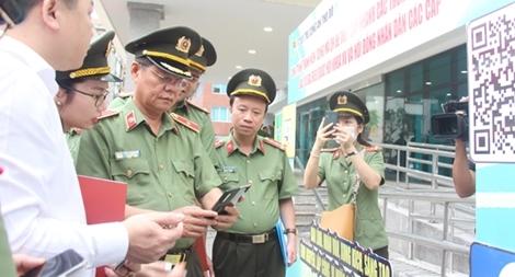 Đoàn thanh niên Công an TP Hà Nội ra quân đảm bảo an ninh trật tự