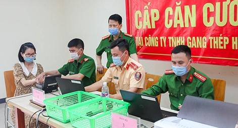 Nỗ lực làm căn cước công dân  tại Formosa Hà Tĩnh